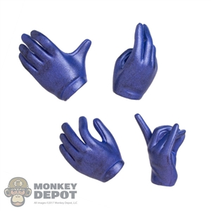 Hands: TBLeague Female Molded Purple Hand Set