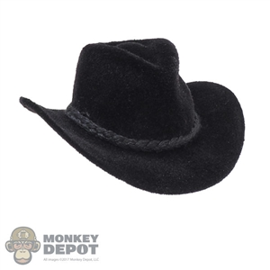 Hat: TBLeague Female Black Cowboy Hat