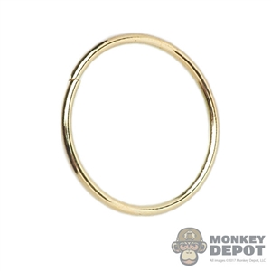 Necklace: TBLeague Female Gold Ring (Large)