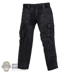 Pants: TBLeague Mens Black Weathered Pants