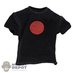 Shirt: TBLeague Mens Black Bloodshot T-Shirt