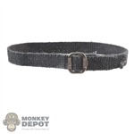 Belt: TBLeague Mens Grey Cloth Belt