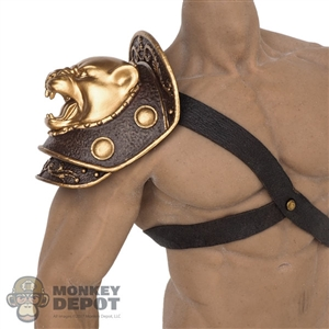 Harness TBLeague Leather-Like Strap w/Shoulder Armor