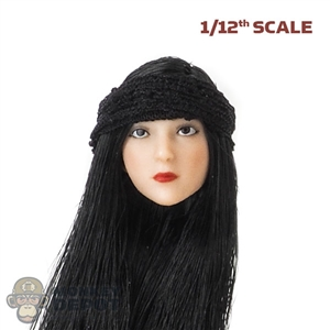 Band: TBLeague 1/12th Black Cloth Hair Band