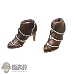 Boots: TBLeague Female Molded High-Heeled Boots