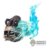 Skull: TBLeague Skull w/Blue Flame + Hand