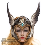 Helmet: TBLeague Female Silver Valkyrie