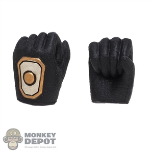 Hands: TBLeague Female Molded Black Holding Grip