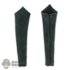 Sleeves: TBLeague Female Green/Black Leather-Like Leg Sleeves