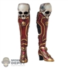 Boots: TBLeague Female Skull Boots
