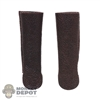 Guards: TBLeague Female Brown Leather-Like Sleeves