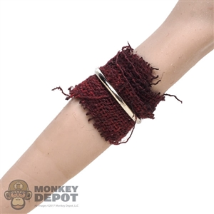 Tool: TBLeague Female Red Cloth Arm Wrap w/Metal Ring