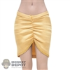 Skirt: TBLeague Female Goldish Skirt w/Sewn In Underwear
