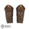 Armor: TBLeague Female Bronze Tone Forearm Guards
