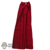 Cape: TBLeague Female Red Hoodless Cloak