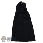 Cape: TBLeague Female Black Hoodless Cloak