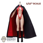 Cape: TBLeague 1/12th Female Hoodless Cloak