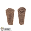 Tool: TBLeague Mens Brown Fur Forearm Sleeves