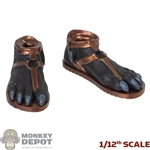 Feet: TBLeague 1/12th Anubis Feet w/Sandals