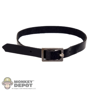 Belt: Play Toy Black Blet w/Silver Buckle