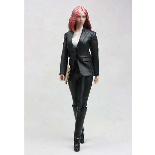 Monkey Depot - Vêtements Set Pop Jouets Spy Femme en cuir-4005