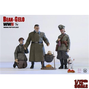 Boxed Figure: POP Toys 1:12 Bean Gelo Series