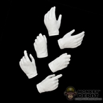 Head: POP Toys White Molded Glove Set