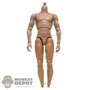 Figure: POP Toys Muscular Upper Body w/Hands + Ankle Pegs