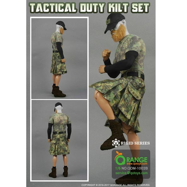 Monkey Depot - Uniform Set: QO Toys Camo Tactical Duty