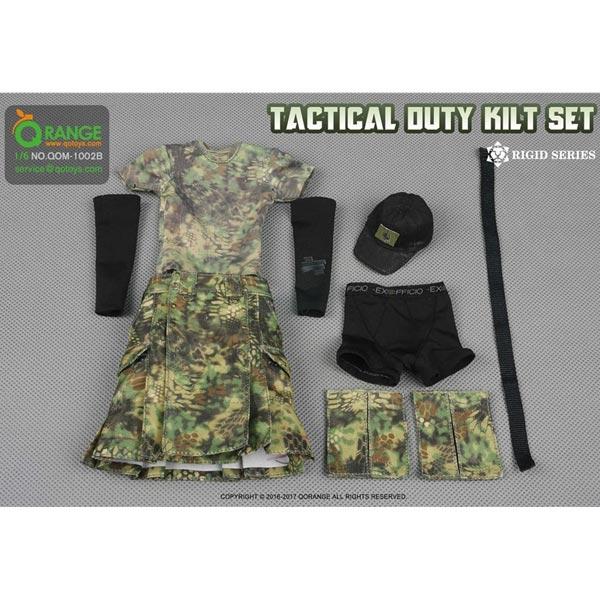 Monkey Depot - Uniform Set: QO Toys Tan Tactical Duty Kilt