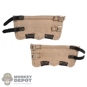 Gaiters: Royal Best German WWII Tan Gaiters
