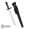 Knife: Royal Best WWII German Bayonet w/Sheath