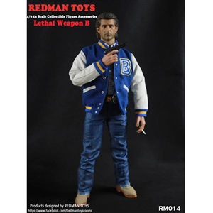 Clothing Set: Redman Lethal Collectible Figure Accessory B (RMT-014B)