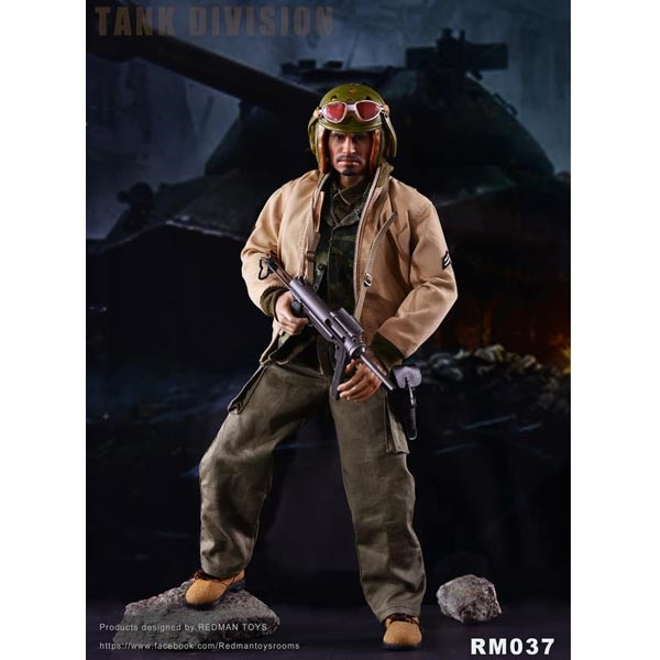1//6 REDMAN TOYS RM037 Collectible Figure FURY TANK DIVISION