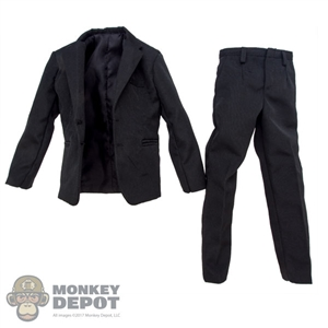 Suit: Redman Mens Black Suit