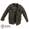 Coat: Redman Female Teenage Green Military Jacket