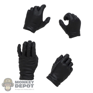 Hands: Redman Mens Black Molded Hand Set