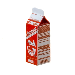 Food: Redman Farmland Milk Container