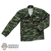 Coat: Redman Mens US WWII Camo Coat