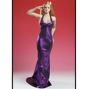 Clothing Set: Super Duck Purple Sexy Mermaid Gown (SUD-C012D)