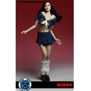Outfit Set: Super Duck Girls Uniform in Blue (SUD-C018B)