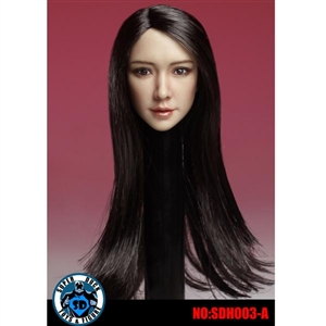 Head: Super Duck Asian Head Ver. 3 w/Black Hair (SUD-SDH003A)