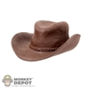 Hat: Super Duck Female Molded Brown Cowboy Hat