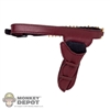 Holster: Super Duck Red Female Leatherlike Right Holster