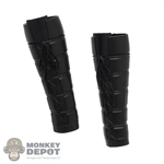 Armor: Super Duck Female Black Molded Leg Guards