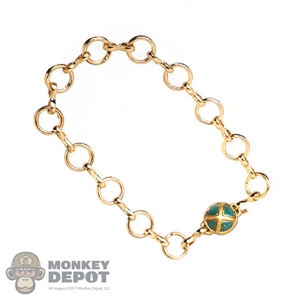 Belt: Super Duck Female Gold Metal Chain
