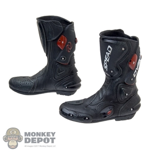 Boots: Special Figures Molded Motorcycle Boots