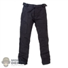 Pants: Special Figures Mens Black Motorcycle Pants