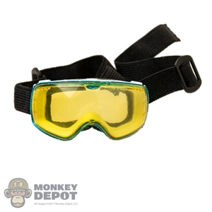 Goggles: Special Figures Mens Yellow Tint Ski Mask