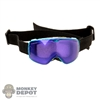 Goggles: Special Figures Mens Purple Tint Ski Mask